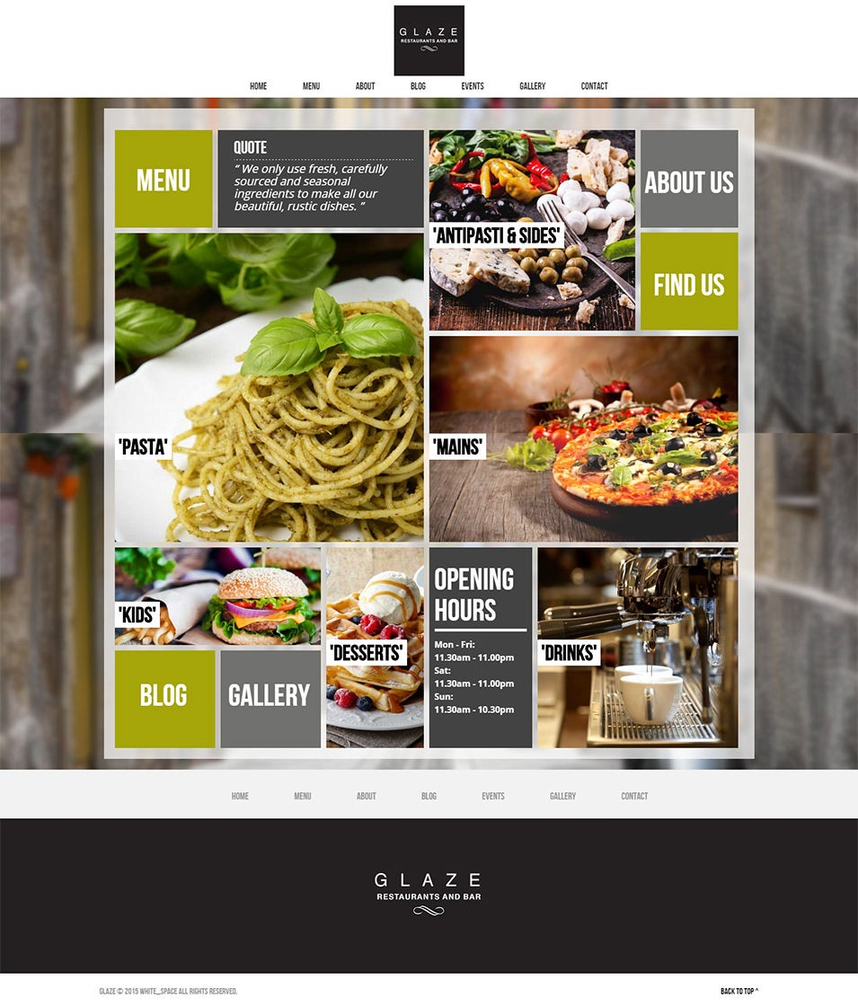 Bar Responsive WordPress Theme