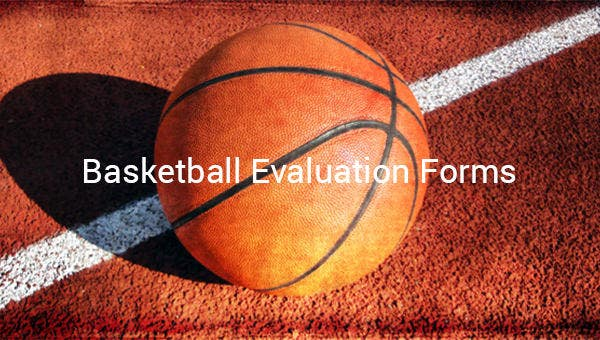 basketball evaluation forms