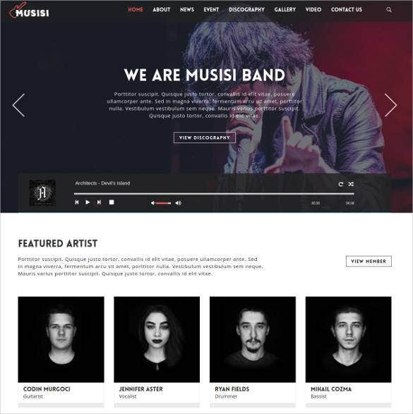 best premium radio station wordpress theme 1