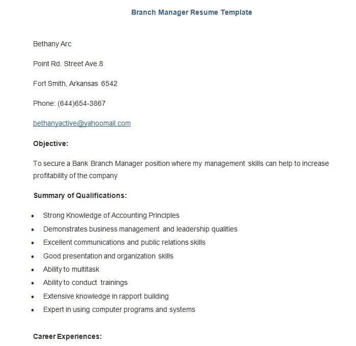 Car Rental Branch Manager Resume Ccss Cuhk Com CIO Sample Resume CTO Sample  Resume IT Executive  Branch Manager Resume