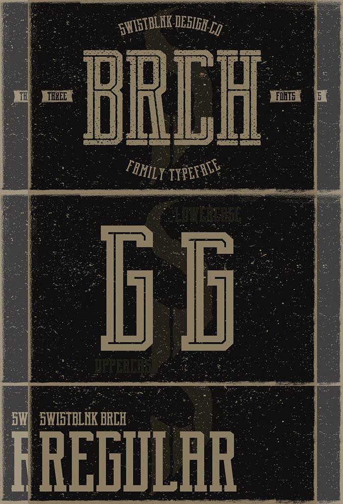 brch infographic font bundle