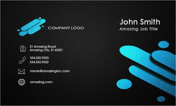 business card corporate template