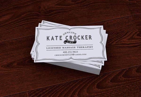 23 Best Vintage Business Card Templates Ai Ms Word Indesign