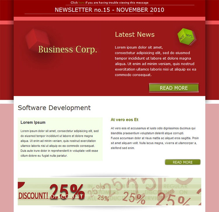 20 business email templates samples free premium templates corporate business newsletter email template 13 free demo download accmission Image collections