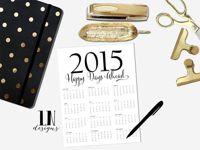 business planner printable calendar