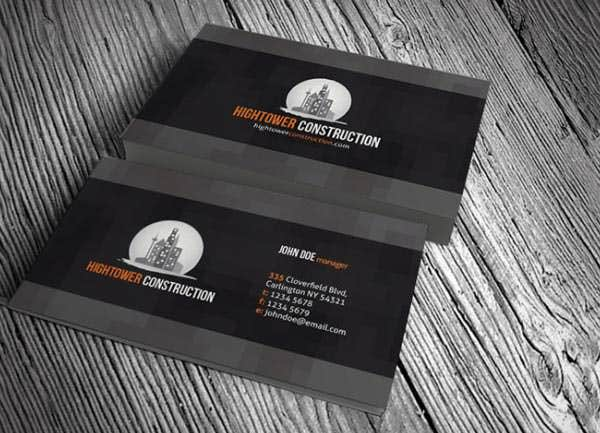 creative elegant corporate business card template