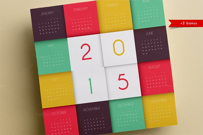 calendars for 2015
