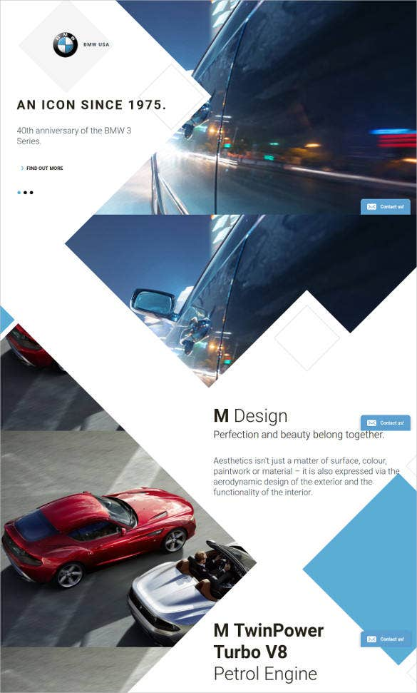 car-html5-responsive-landing-page-website-template