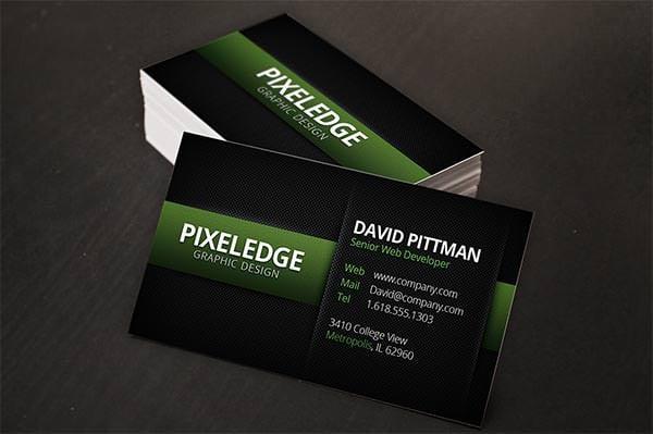 carbon fiber business cards v2