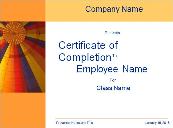 Word certificate template 49 free download samples for Training certificate template free
