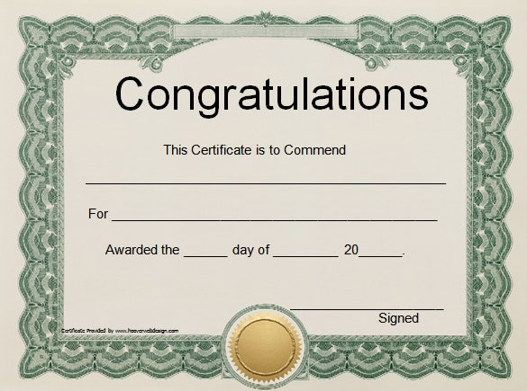 certificate template download word certificate template 49 free download samples