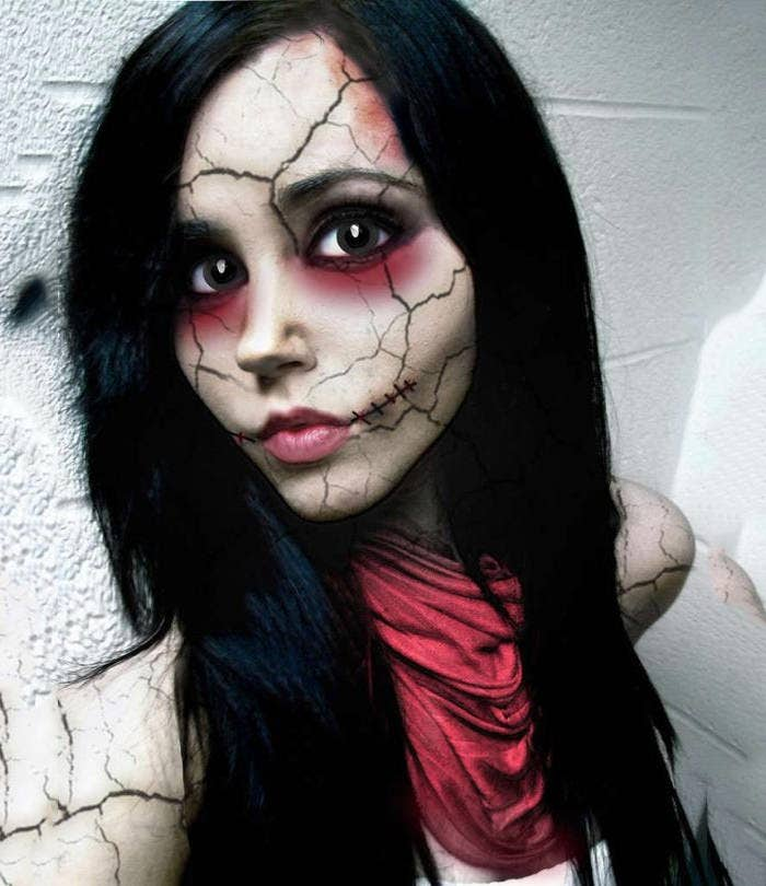 cool hallowwen makeup idea