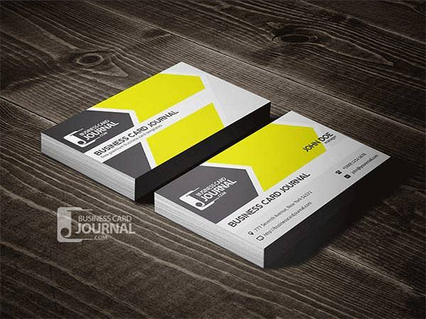 cool refreshing business card template