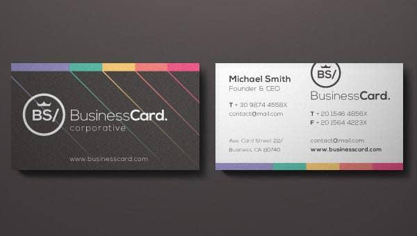 corporate business card vol 51