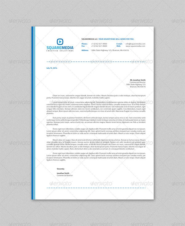 Psd Letterhead Template – 51+ Free Psd Format Download! | Free