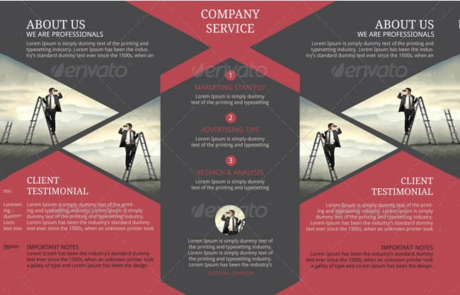 Corporate Pamphlet Template  Business Pamphlet Templates Free