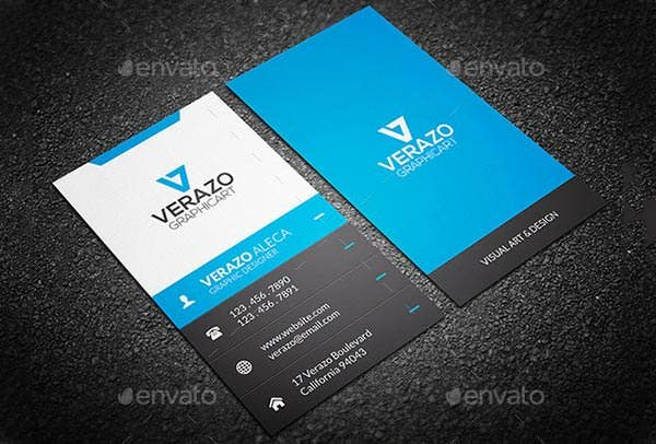 52 Best Corporate Business Card Templates : Free u0026 Premium ...