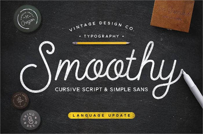 Cursive Fonts For Photoshop Downloadable
