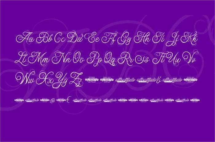 cursive-letter-font2