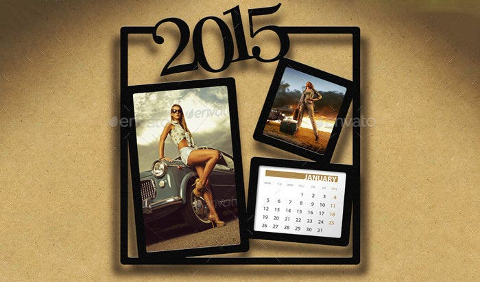 customizable calendar 2015 bundle