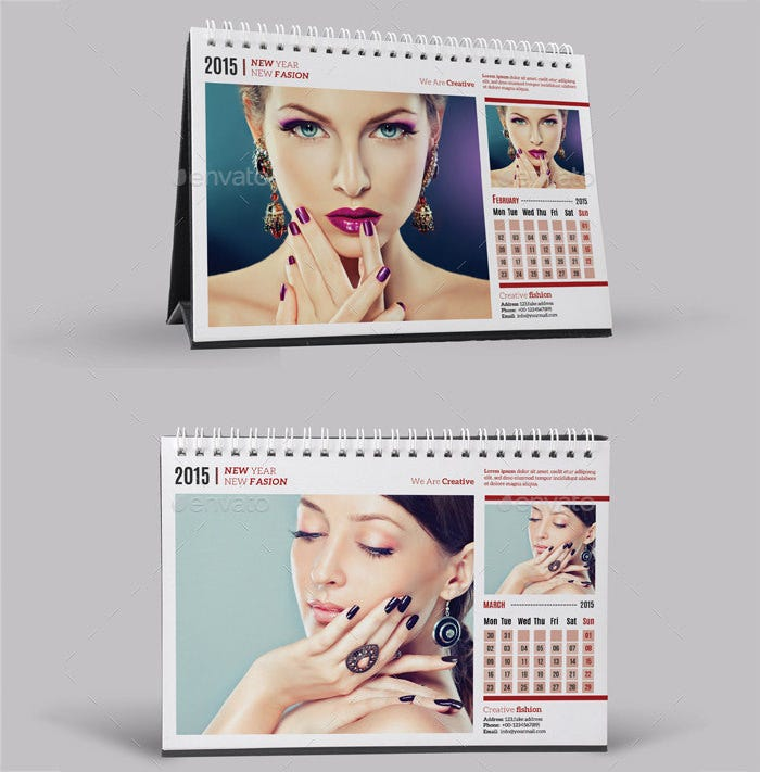 desk calendar 2015 v04