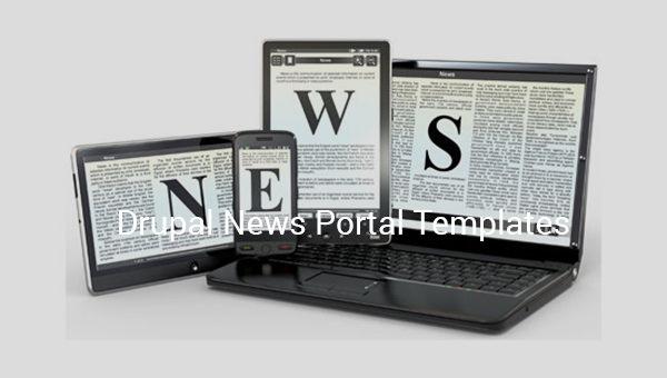 drupal news portal templates