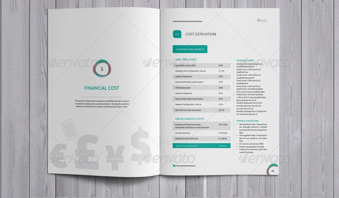 E Commerce Project Marketing Proposal Template