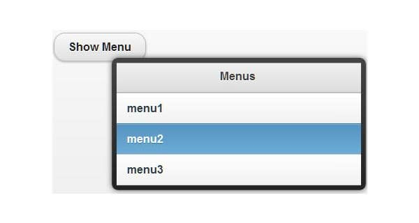 easy steps to create jquery menu buttons