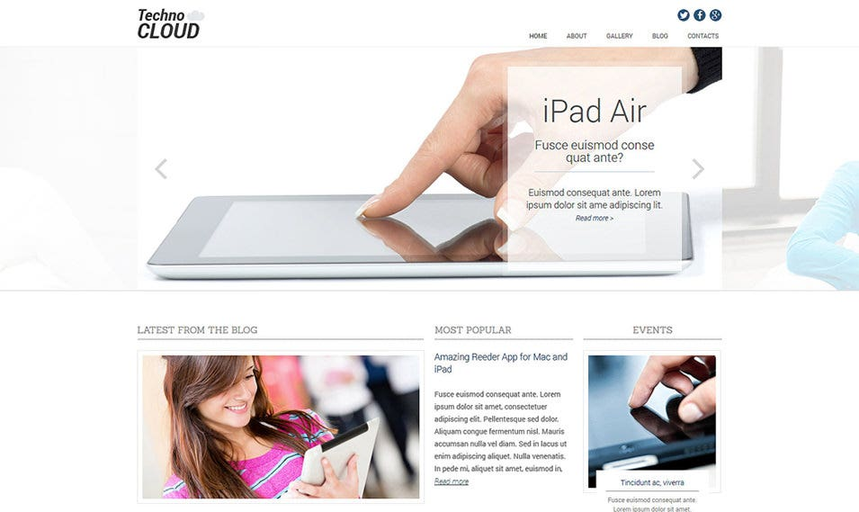 electronics review responsive joomla template
