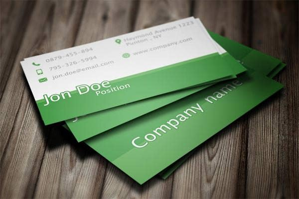 76+ Best PSD Business Card Templates | Free & Premium Templates