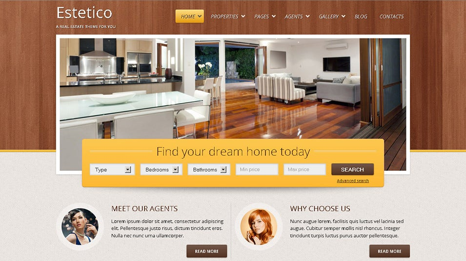 estetico premium real estate wp theme
