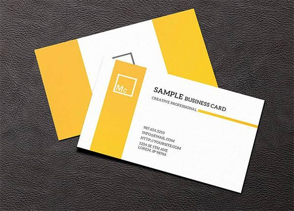 Best Psd Business Card Templates  Free  Premium Templates