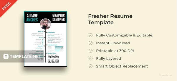 free fresher resume template1