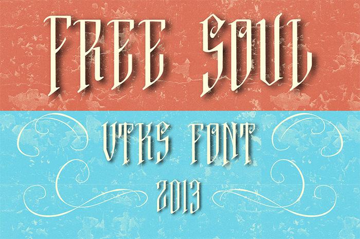 free soul font