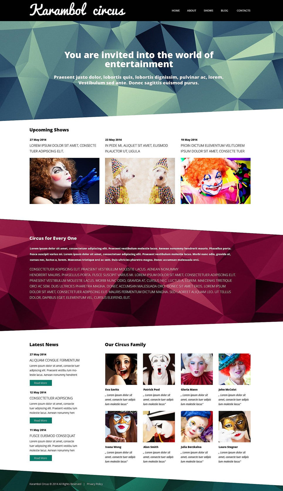 fun joy club wordpress theme