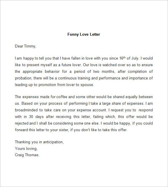 52 love letter templates free sample example format download funny love letter template pronofoot35fo Choice Image