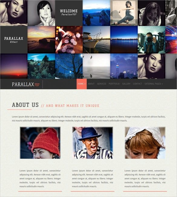 gallery responsive bootstrap template1