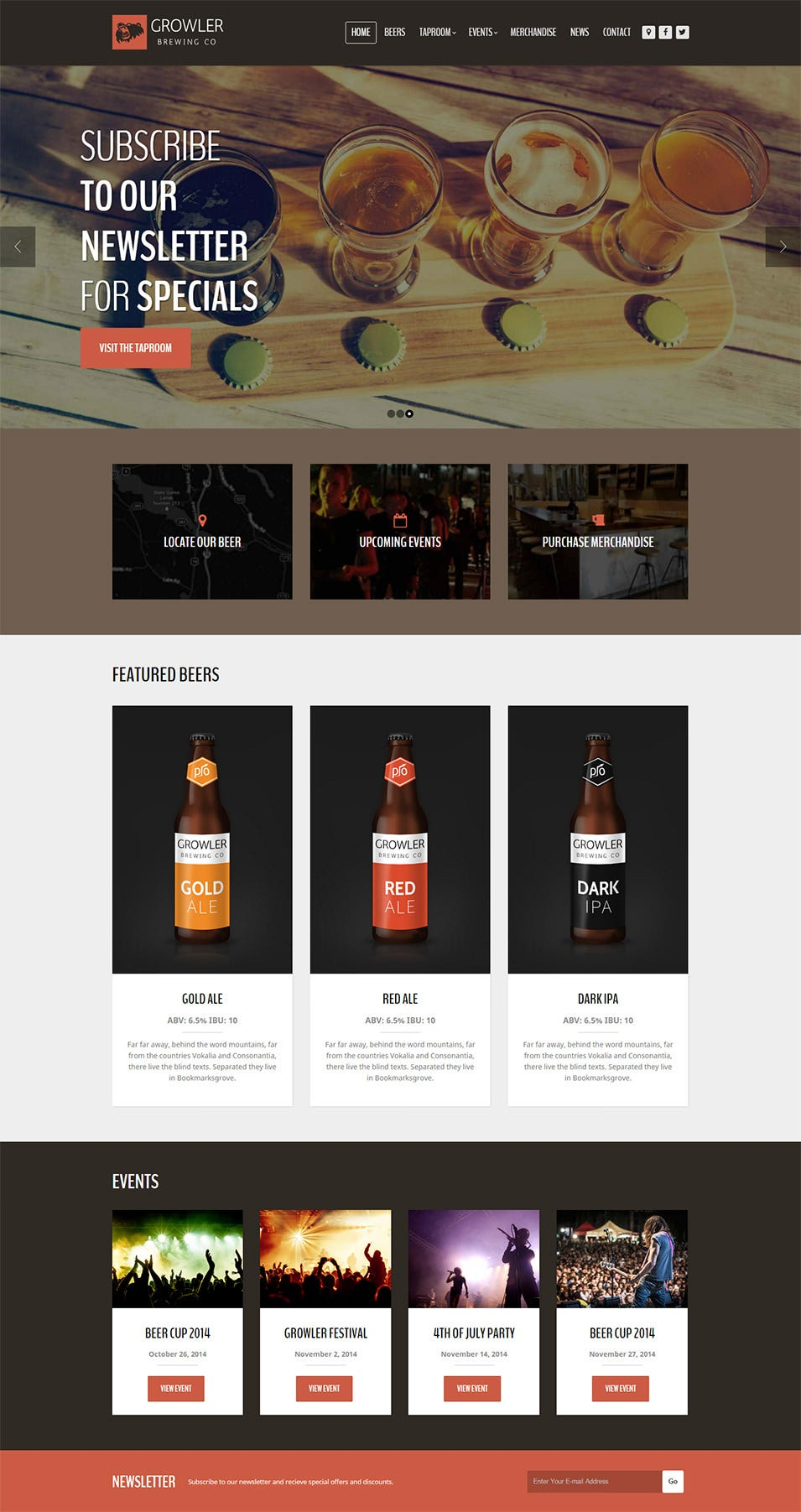 Growler Theme   Just another WordPress site