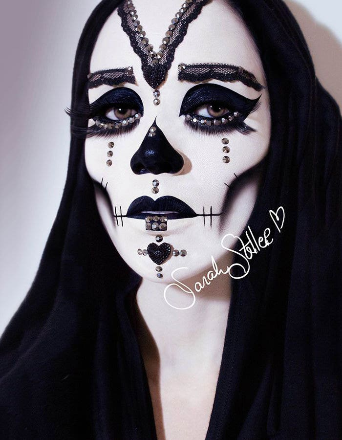 halloween makeup photography idea