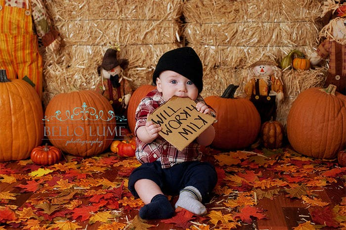 halloween photography idea with kid