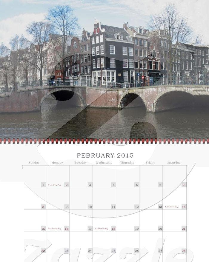 holland photo calendar 20151