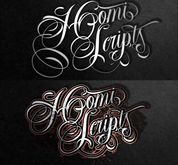 20 best tattoo lettering fonts for download free premium templates. Black Bedroom Furniture Sets. Home Design Ideas