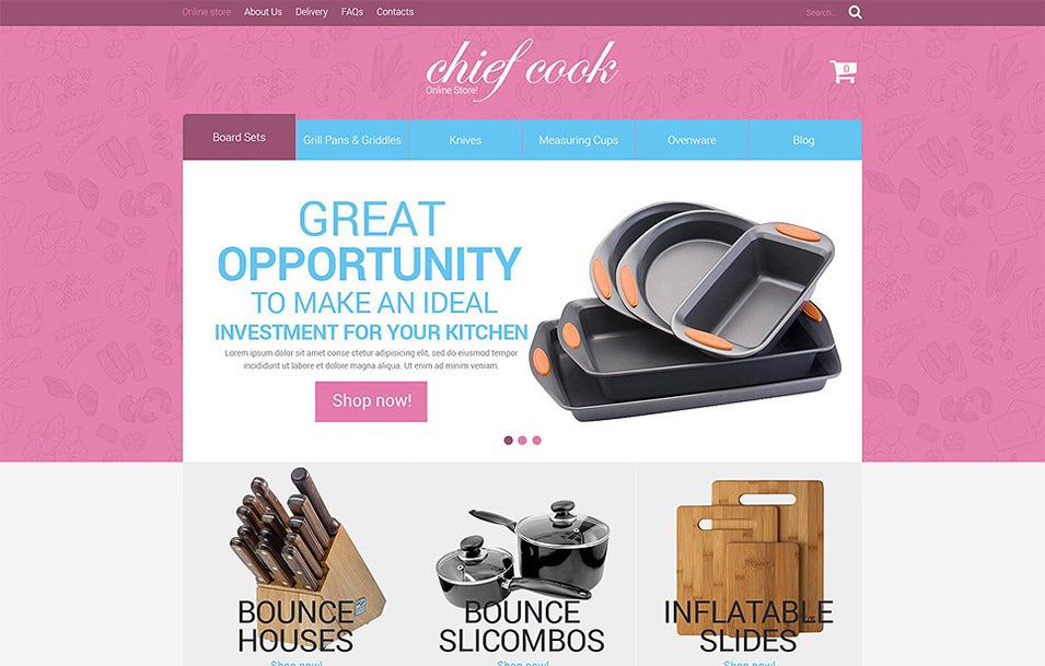 housewares responsive virtuemart template