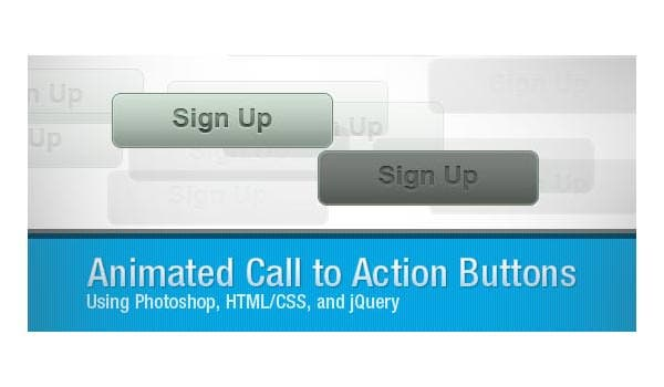 how to create animated call to action button