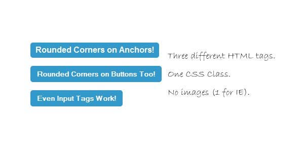 how to create rounded buttons for cross browser
