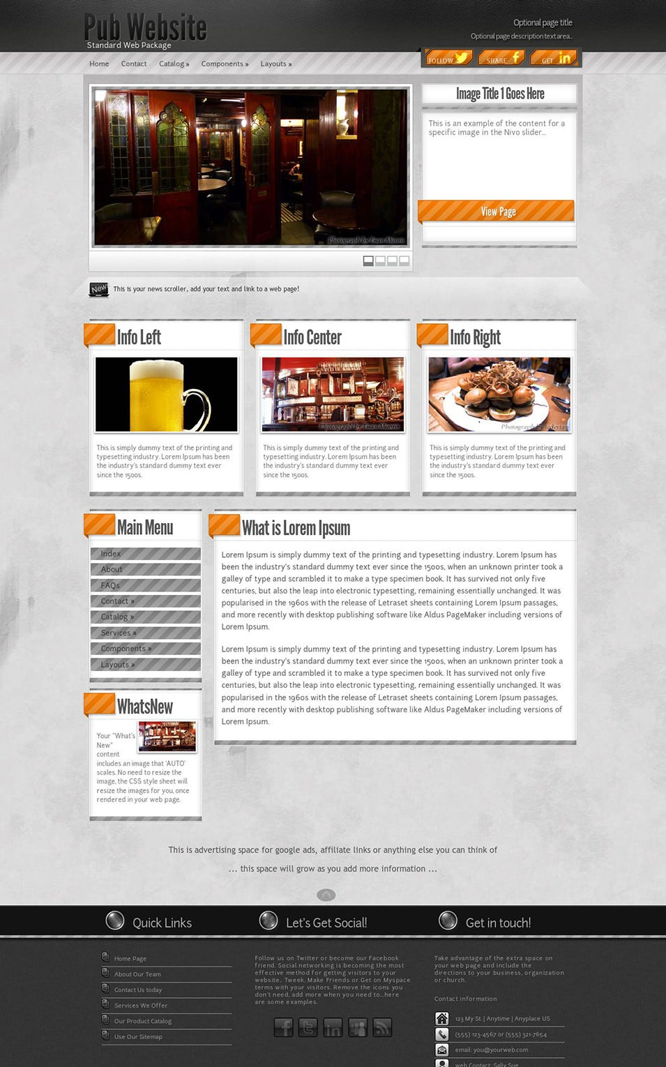 Innovation Pub Wordpress Theme