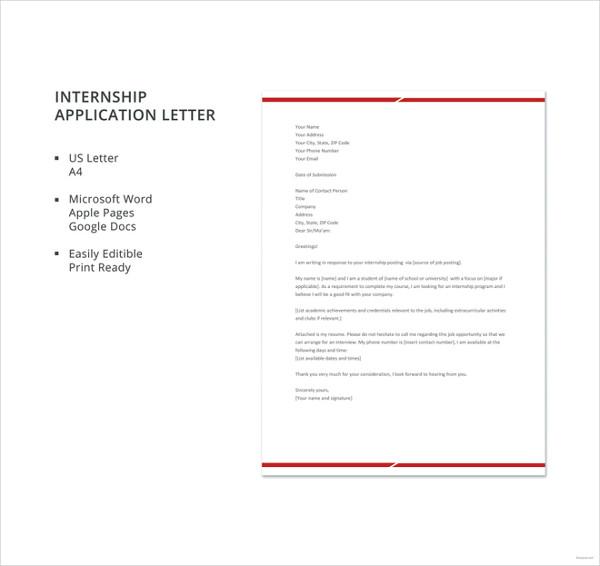 internship-application-letter-template