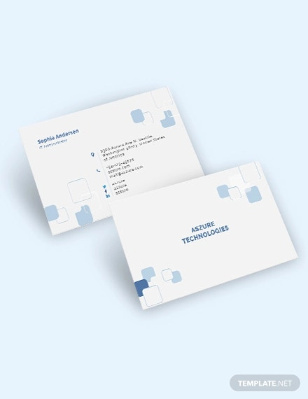 it company business card