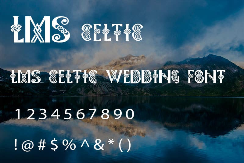 lms celtic wedding font1