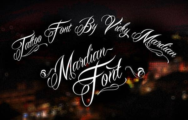 Best tattoo lettering fonts for download free premium